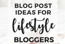 nápady na blog