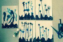 Kreativitet og kunst med eleverne / Billedkunst