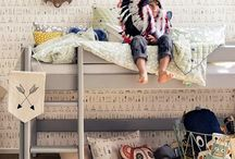 children bedrooms / by Jamie Sentz