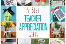 Teacher appreciation ideas :) / by Hillary Rudicill