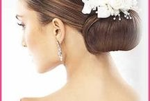 Wedding / Wedding hairstyles, makeup, gowns, poses, accessories, hair pieces, nail arts