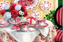 red and white  beautiful