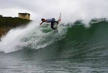 Surfing / Surfing has become synonymous with Bundoran in the past number of years. Any weekend in any month, be it the middle of summer or the dead of winter, you'll generally find somewhere to go surfing in Bundoran or its surrounds with countless beach and reef breaks to be found in close proximity.