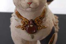 Cats: Kazuya Yoshida's Art Works