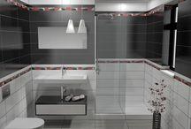 collection JAZZ - ΠΡΟΤΑΣΗ ΜΠΑΝΙΟΥ / Σχέδια μπάνιου βασισμένα στα πλακάκια από την σειρά JAZZ. Από το ebath creation services www.e-bath.net