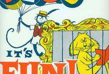 Promocionando la lectura  / Anuncios vintage y actuales invitando a leer  de una forma ingeniosa