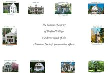 Properties    / The unique character of Bedford Village is largely a result of the Historical Society's preservation efforts since its founding in 1916.  We maintain ten historic properties in Bedford Village.