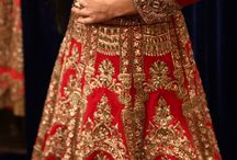 Bridal Clothing / From Lehengas to Sarees To Choli designs and embroidery works for Indian Weddings for the sister of the bride or the room or someone close