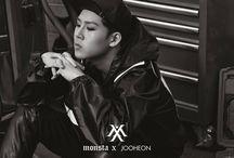 monsta x / kihyun, shownu, i.m, minhyuk, jooheon, wonho, hyungwon