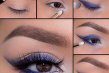 oczy niebieskie