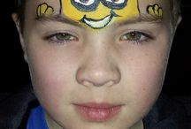 face painting minions