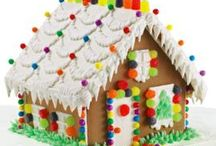 Holiday: Ginger Bread House Fun at Christmas / Inspiration for the Ginger bread houses the kids & I make.  / by Hepzaba Mae