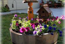Okos és szép kert dekorációk