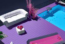 tarima exterior sinteticas de colores / Deckplanet Urban, las nuevas tarimas de exterior de colores especialmente diseñada para proyectos de arquitectura que retan  la creatividad de los mejores profesionales.. #tarimaexterior #tarimaexteriorcolores