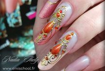 Nail Art Pierre Liquide
