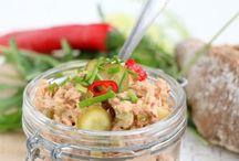 pittige tonijn salade