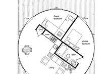kruhové domy