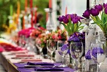 Colourful weddings / Oh, the options….