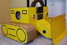 Crafty: Cardboard / You can make almost anything out of CARDBOARD!