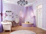 Ideas for the House / cute bedrooms for girls; lavender