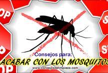 EVITAR LAS PICADURAS DE MOSQUITOS / Ahora mas que nunca es el momento de ahuyentar efectivamente los mosquitos ya que transmiten los nuevos virus como el ZIKA.