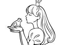 Dibujos de Princesas para colorear / Te presentamos una colección de cuento con una selección de los mejores dibujos de princesas de Dibujos.net para colorear. Preciosos vestidos, tiaras, coronas y sapos para que los colorees a tu gusto y crees a tu propia princesa encantada. ¡A pintar!