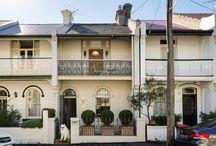 Terrace colour schemes / Australia, Sydney, Terrace, House, Colours, Paint, Heritage