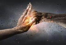 Deflecting psychic attacks