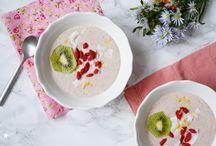 Les jolis petits déjeuners / Petits déjeuners joyeux, colorés, healthy pour bien commencer la journée!