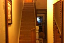 Our hall stairs and landing / Decorating!