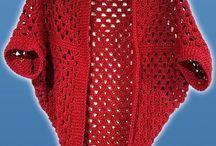 granny square cocoon shawl