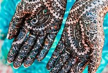 henna and indian art