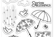 Clear stamps rubber stamps TIMBRI VARI