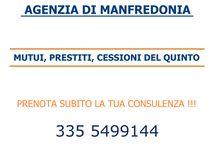 CONSULTING 360 - MANFREDONIA / AGENZIA NEXUS MANFREDONIA  >> MUTUI, PRESTITI, CESSIONI DEL QUINTO >> PRENOTA LA TUA CONSULENZA !!!  335 5499144