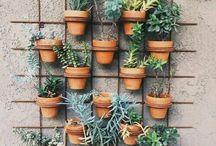 Flowerpot wall