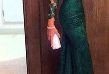 Vestido de casamento e formatura