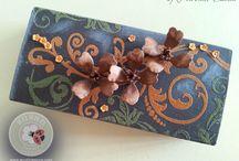 CHOCOLATE DOGWOOD FLOWERS