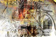 G-Collages / my passion is collages, i'm making them when i'm lisening a music also in the silence, and for the persons that i know or had meet in my life _ mia passione sono collages, quelli faccio sempre mentre sto ascoltando la musica oppure in totale silenzio, faccio per le persone che conosco o incontro nella mia vita. Tutti collages avevo imparato a fare all'ISIA.Roma