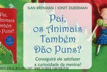 |Pai, Os Animais Também Dão Puns?| Conhecem este livro?