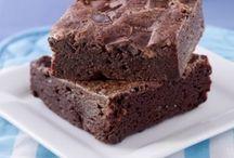 brownies, recetas, decoración.