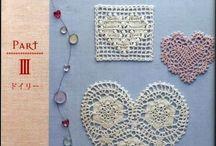 Crochet - hearts / háčkování - srdíčka