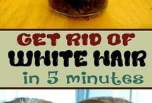 White hair remedy