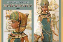 Egyptian dolls