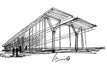 Tadao Ando - Desenho / Drawing