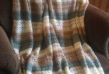 Crochet Afghan Blankets / free patterns