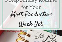 Productivity - Sunday