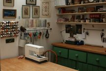 Other people's studios / Gorgeous creative spaces