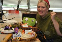 How to Green Your Halloween / Greening your Halloween can focus on nutrition, product safety, even saving money and energy.  Our family has been trying a few small changes here and there while still keeping things festive!  Join Anne from FlourSackMama.com in East Tennessee on 98.7 radio during the 8 am hour Sat. Oct. 26 for fun Green Your Halloween tips with The Housing Hour.