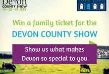 What makes Devon so special to you? / Show us what makes Devon so special to you. Upload your favourite Devon picture on our Facebook page (facebook.com/naomijryan) and you could win a family ticket for the Devon County Show 2016! The winner will be contacted on May 17th. Good luck!