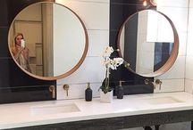 Guest Bathroom - Vanity and Mirro